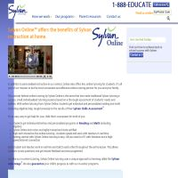 Sylvan Learning Online Tutoring image